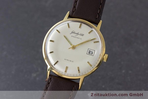 Used luxury watch Glashütte Spezimatic gold-plated automatic Kal. 75 VINTAGE  | 161160 04