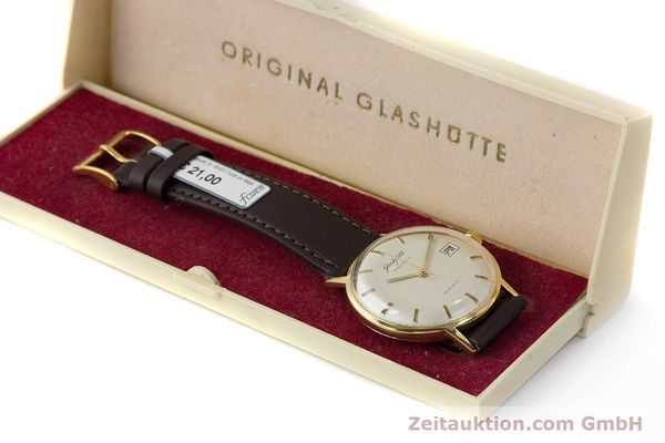 Used luxury watch Glashütte Spezimatic gold-plated automatic Kal. 75 VINTAGE  | 161160 07