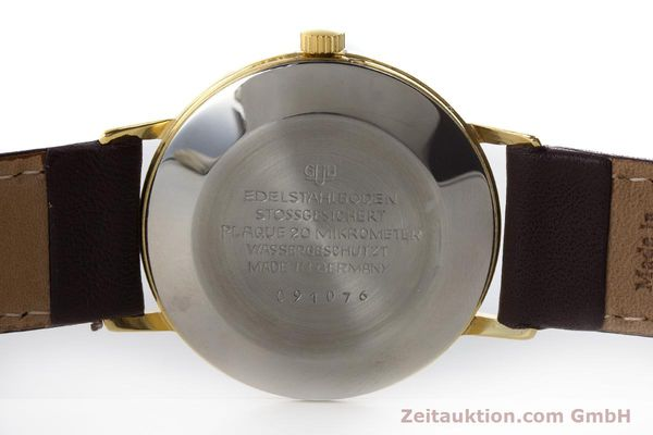 Used luxury watch Glashütte Spezimatic gold-plated automatic Kal. 75 VINTAGE  | 161160 09