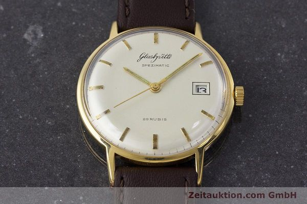 Used luxury watch Glashütte Spezimatic gold-plated automatic Kal. 75 VINTAGE  | 161160 13