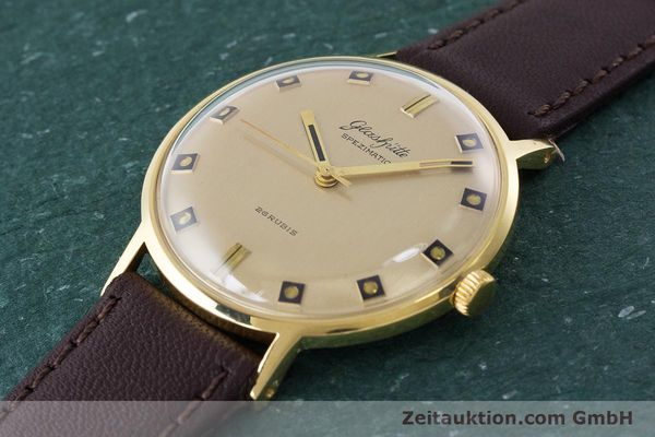 Used luxury watch Glashütte Spezimatic gold-plated automatic Kal. 74 VINTAGE  | 161161 01