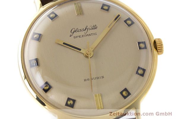 Used luxury watch Glashütte Spezimatic gold-plated automatic Kal. 74 VINTAGE  | 161161 02