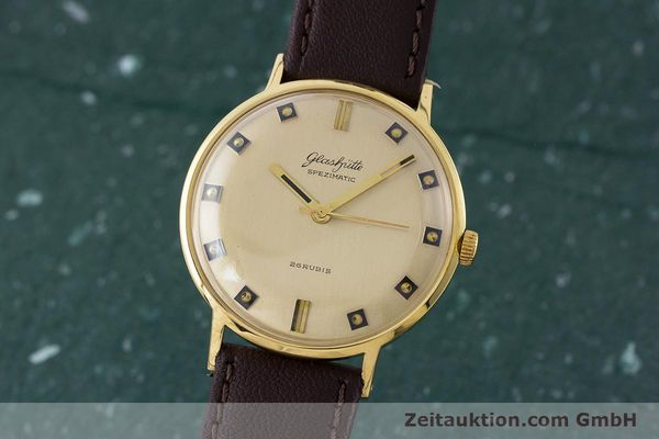 Used luxury watch Glashütte Spezimatic gold-plated automatic Kal. 74 VINTAGE  | 161161 04