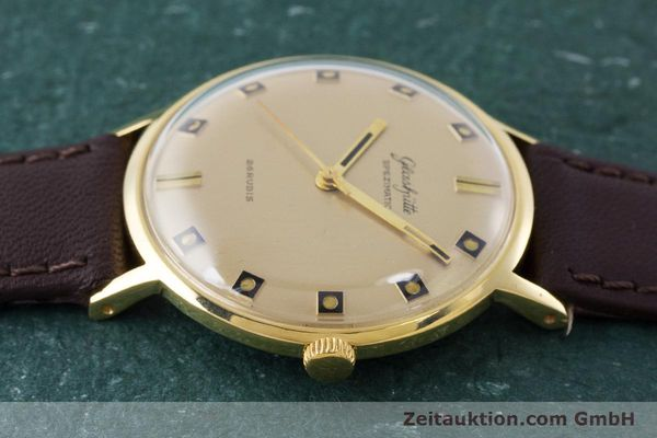Used luxury watch Glashütte Spezimatic gold-plated automatic Kal. 74 VINTAGE  | 161161 05