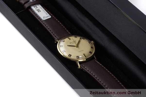Used luxury watch Glashütte Spezimatic gold-plated automatic Kal. 74 VINTAGE  | 161161 07