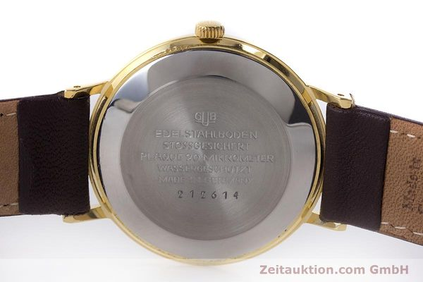Used luxury watch Glashütte Spezimatic gold-plated automatic Kal. 74 VINTAGE  | 161161 09
