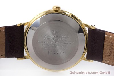 GLASHÜTTE SPEZIMATIC GOLD-PLATED AUTOMATIC KAL. 74 VINTAGE [161161]