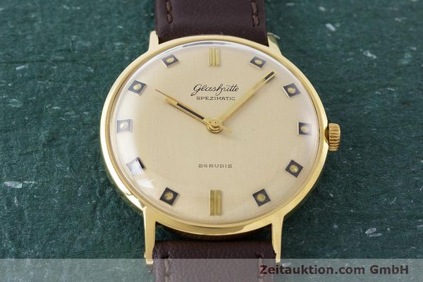 Used luxury watch Glashütte Spezimatic gold-plated automatic Kal. 74 VINTAGE  | 161161 13