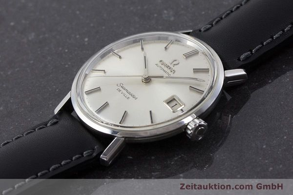Used luxury watch Omega Seamaster steel automatic Kal. 562 Ref. 166.020 VINTAGE  | 161163 01
