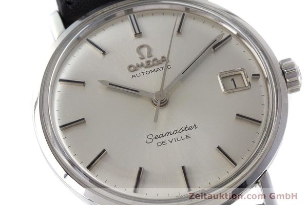Used luxury watch Omega Seamaster steel automatic Kal. 562 Ref. 166.020 VINTAGE  | 161163 02