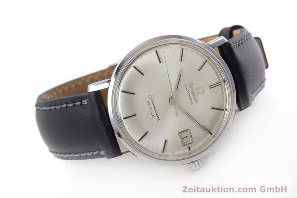 Used luxury watch Omega Seamaster steel automatic Kal. 562 Ref. 166.020 VINTAGE  | 161163 03