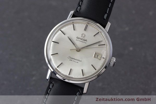Used luxury watch Omega Seamaster steel automatic Kal. 562 Ref. 166.020 VINTAGE  | 161163 04