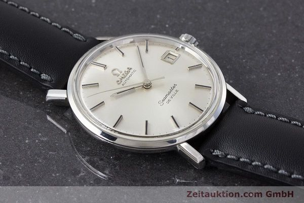 Used luxury watch Omega Seamaster steel automatic Kal. 562 Ref. 166.020 VINTAGE  | 161163 14