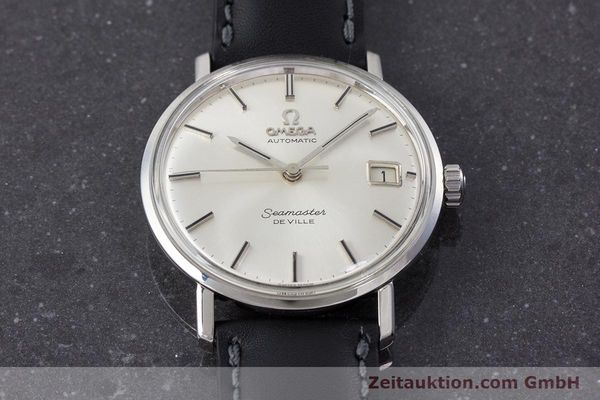 Used luxury watch Omega Seamaster steel automatic Kal. 562 Ref. 166.020 VINTAGE  | 161163 15