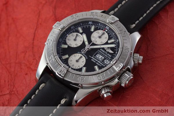 Used luxury watch Breitling Superocean Chronograph chronograph steel automatic Kal. B13 ETA 7750 Ref. A13340  | 161164 01