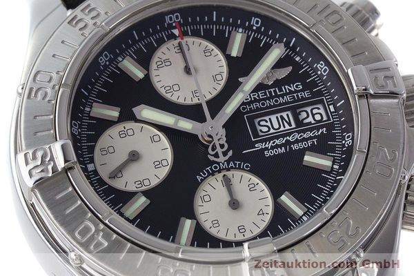 Used luxury watch Breitling Superocean Chronograph chronograph steel automatic Kal. B13 ETA 7750 Ref. A13340  | 161164 02