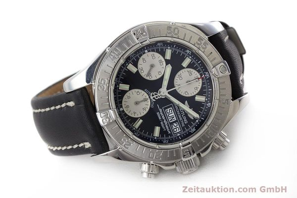 Used luxury watch Breitling Superocean Chronograph chronograph steel automatic Kal. B13 ETA 7750 Ref. A13340  | 161164 03