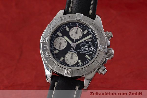 Used luxury watch Breitling Superocean Chronograph chronograph steel automatic Kal. B13 ETA 7750 Ref. A13340  | 161164 04