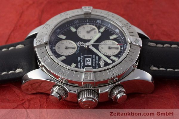 Used luxury watch Breitling Superocean Chronograph chronograph steel automatic Kal. B13 ETA 7750 Ref. A13340  | 161164 05