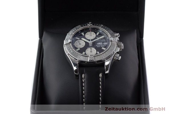 Used luxury watch Breitling Superocean Chronograph chronograph steel automatic Kal. B13 ETA 7750 Ref. A13340  | 161164 07