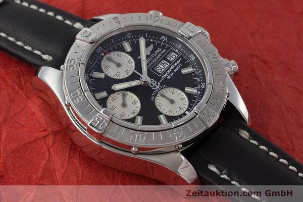 Used luxury watch Breitling Superocean Chronograph chronograph steel automatic Kal. B13 ETA 7750 Ref. A13340  | 161164 14