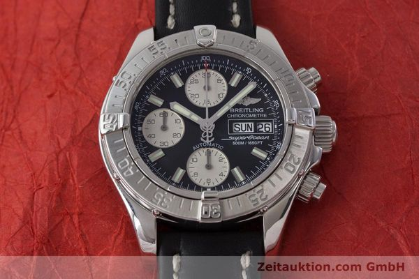 Used luxury watch Breitling Superocean Chronograph chronograph steel automatic Kal. B13 ETA 7750 Ref. A13340  | 161164 15