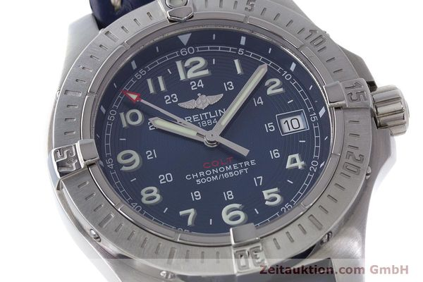 Used luxury watch Breitling Colt steel quartz Kal. B74 Ref. A74380  | 161165 02
