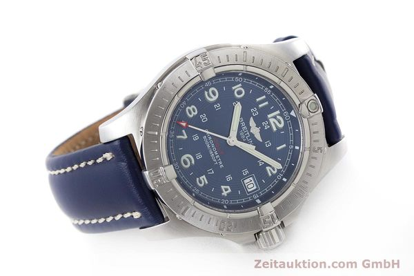Used luxury watch Breitling Colt steel quartz Kal. B74 Ref. A74380  | 161165 03
