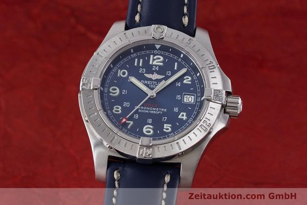 Used luxury watch Breitling Colt steel quartz Kal. B74 Ref. A74380  | 161165 04