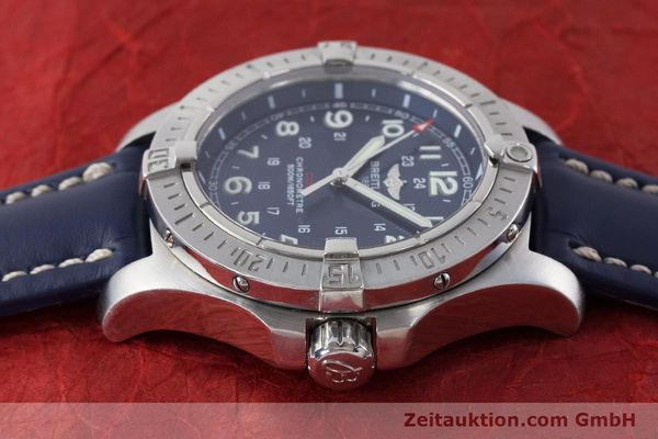 Used luxury watch Breitling Colt steel quartz Kal. B74 Ref. A74380  | 161165 05