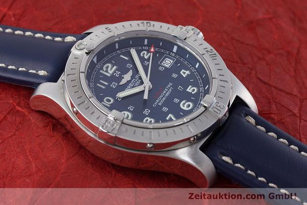Used luxury watch Breitling Colt steel quartz Kal. B74 Ref. A74380  | 161165 13