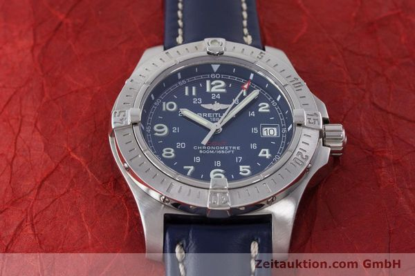 Used luxury watch Breitling Colt steel quartz Kal. B74 Ref. A74380  | 161165 14