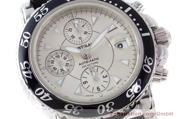 Used luxury watch Montblanc Sport Chronograph chronograph steel automatic Kal. 4810501 ETA 7750 Ref. 7034  | 161167 02
