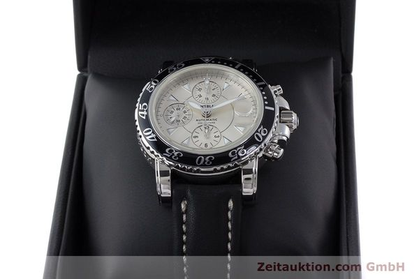 Used luxury watch Montblanc Sport Chronograph chronograph steel automatic Kal. 4810501 ETA 7750 Ref. 7034  | 161167 07