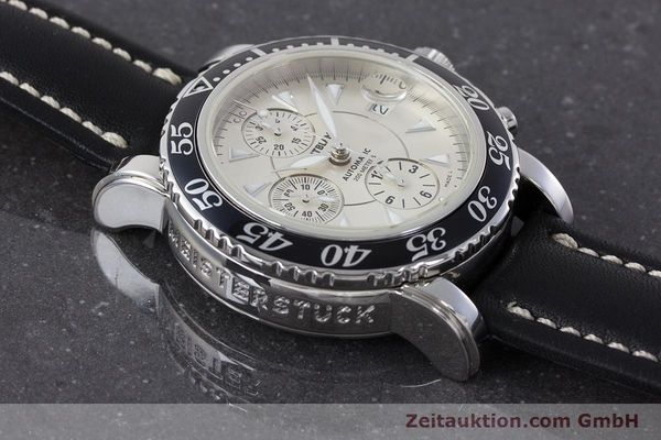 Used luxury watch Montblanc Sport Chronograph chronograph steel automatic Kal. 4810501 ETA 7750 Ref. 7034  | 161167 14