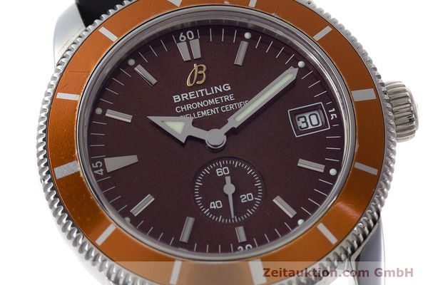 Used luxury watch Breitling Superocean steel automatic Kal. B37 ETA 2893-2 Ref. A37320  | 161170 02