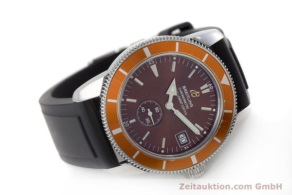 Used luxury watch Breitling Superocean steel automatic Kal. B37 ETA 2893-2 Ref. A37320  | 161170 03