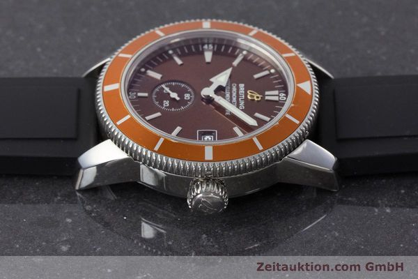 Used luxury watch Breitling Superocean steel automatic Kal. B37 ETA 2893-2 Ref. A37320  | 161170 05