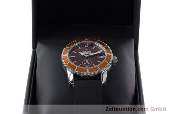 Used luxury watch Breitling Superocean steel automatic Kal. B37 ETA 2893-2 Ref. A37320  | 161170 07