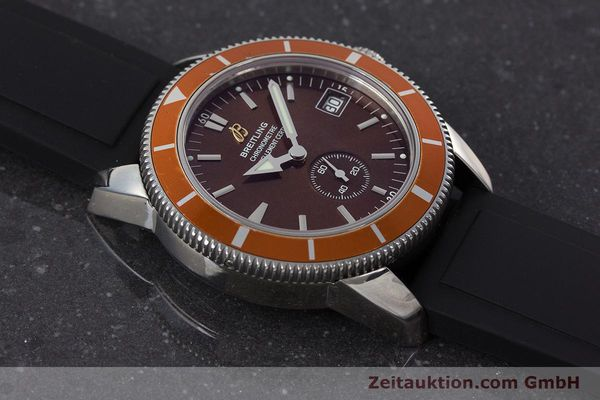 Used luxury watch Breitling Superocean steel automatic Kal. B37 ETA 2893-2 Ref. A37320  | 161170 16