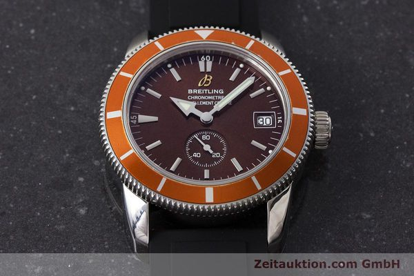 Used luxury watch Breitling Superocean steel automatic Kal. B37 ETA 2893-2 Ref. A37320  | 161170 17