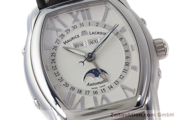 Used luxury watch Maurice Lacroix Masterpiece steel automatic Kal. ML37 ETA2824-2 Ref. MP6439  | 161173 02