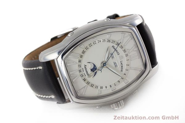 Used luxury watch Maurice Lacroix Masterpiece steel automatic Kal. ML37 ETA2824-2 Ref. MP6439  | 161173 03