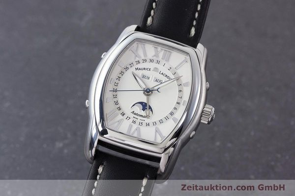 Used luxury watch Maurice Lacroix Masterpiece steel automatic Kal. ML37 ETA2824-2 Ref. MP6439  | 161173 04