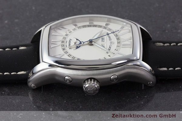 Used luxury watch Maurice Lacroix Masterpiece steel automatic Kal. ML37 ETA2824-2 Ref. MP6439  | 161173 05