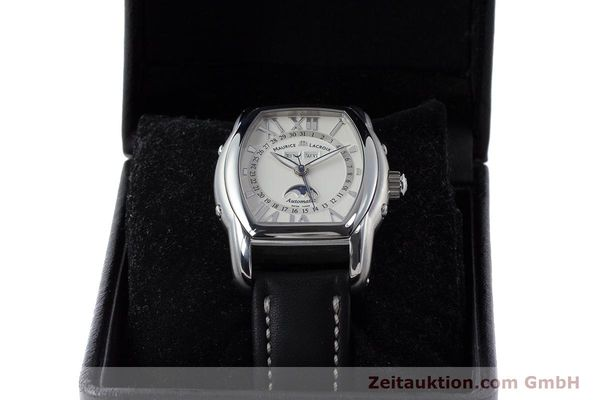 Used luxury watch Maurice Lacroix Masterpiece steel automatic Kal. ML37 ETA2824-2 Ref. MP6439  | 161173 07