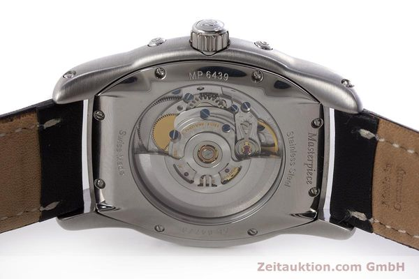 Used luxury watch Maurice Lacroix Masterpiece steel automatic Kal. ML37 ETA2824-2 Ref. MP6439  | 161173 09