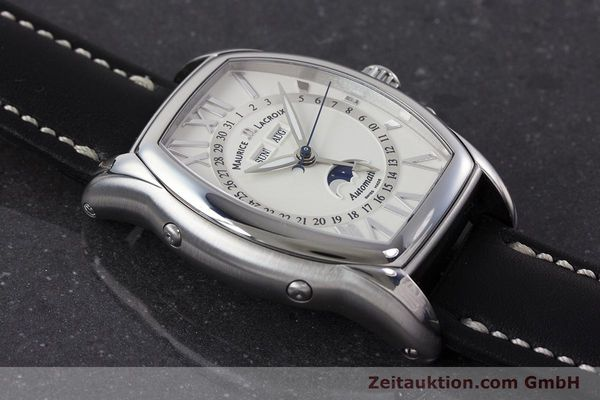 Used luxury watch Maurice Lacroix Masterpiece steel automatic Kal. ML37 ETA2824-2 Ref. MP6439  | 161173 12