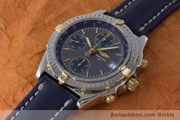 Used luxury watch Breitling Chronomat chronograph steel / gold automatic Kal. B13 ETA 7750 Ref. B13050.1  | 161174 01