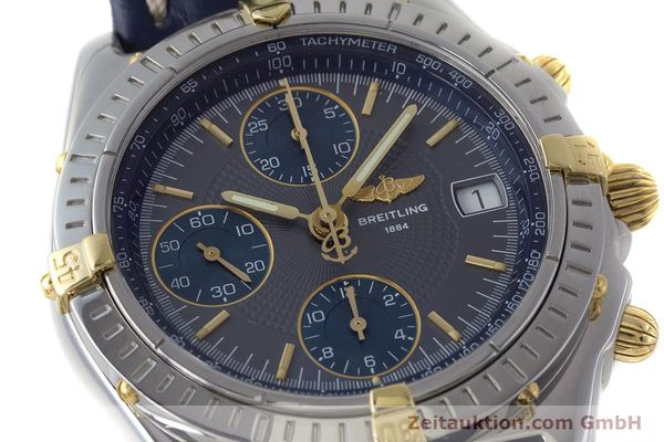Used luxury watch Breitling Chronomat chronograph steel / gold automatic Kal. B13 ETA 7750 Ref. B13050.1  | 161174 02